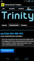 Screenshot of Trinity Kernel Toolbox