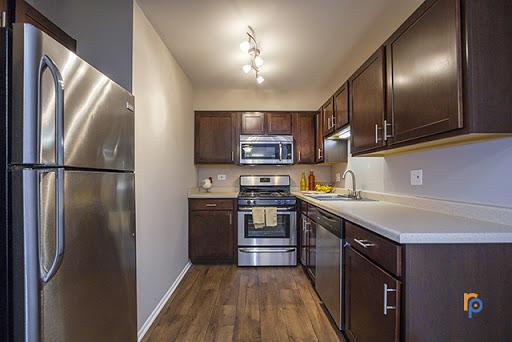 Kitchen at Greenway at Carol Stream