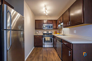 Kitchen at Greenway at Carol Stream