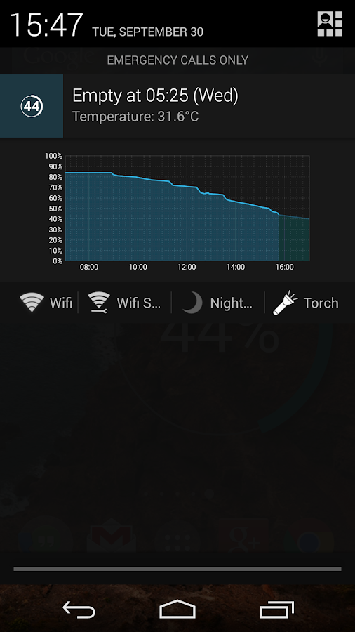 Battery Widget Reborn (Free) - screenshot