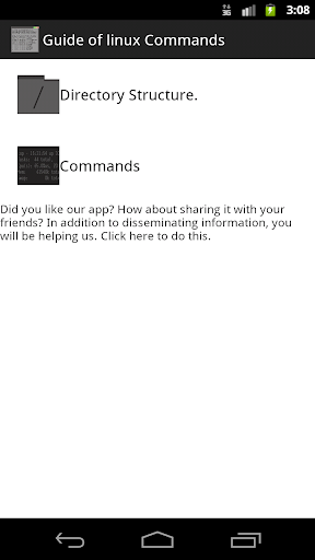 Commands GNU Linux Android