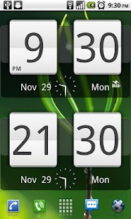 Sense Analog Clock Widget 24 - screenshot thumbnail