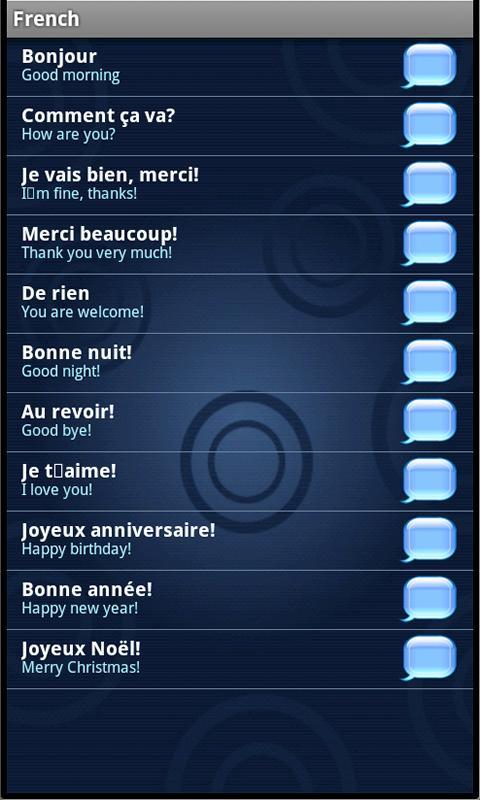 iSpeak 40 languages- screenshot