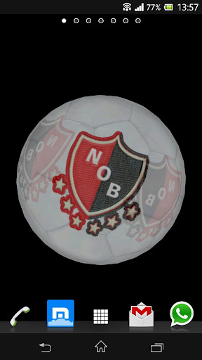 Ball 3D Newell's Old Boys LWP