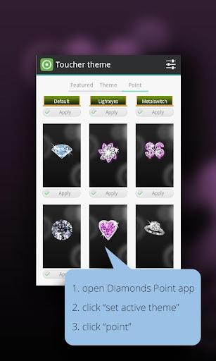 ピンクダイヤモンド触れる人ポイント|玩個人化App免費|玩APPs