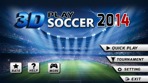 3D Play Soccer 2014