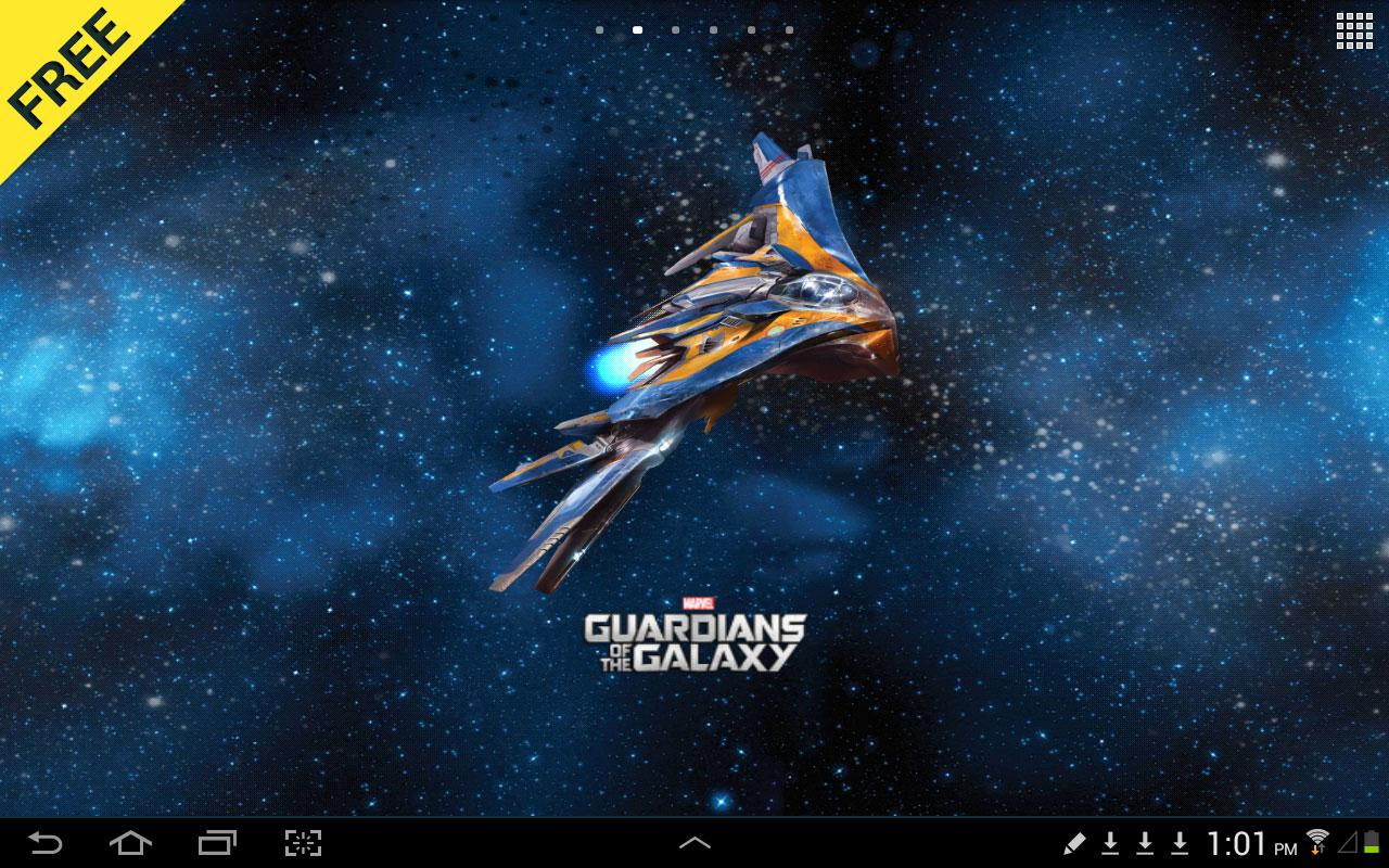 Guardians of the Galaxy LWP- screenshot