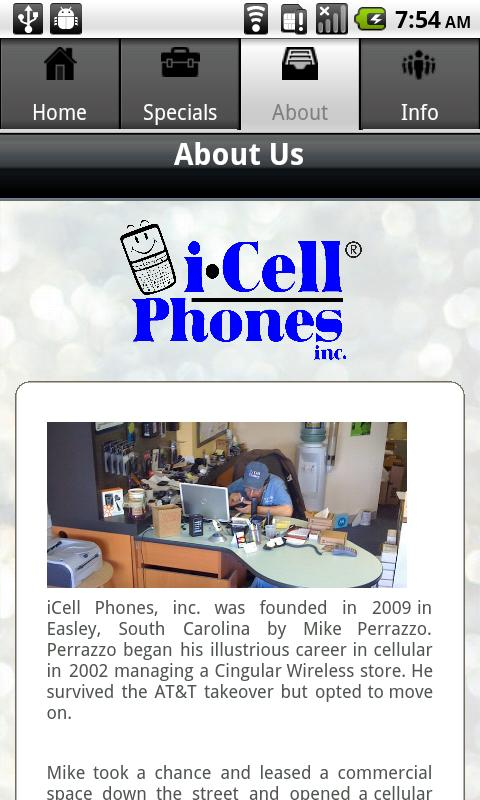 iCellPhones - screenshot