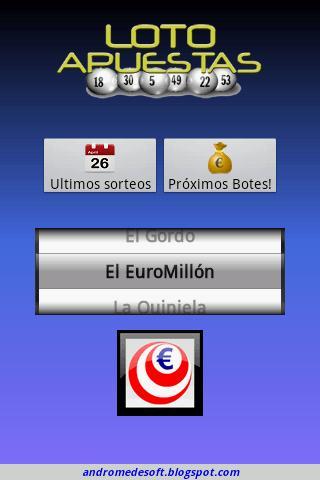 LotoApuestas Spanish Lottery- screenshot