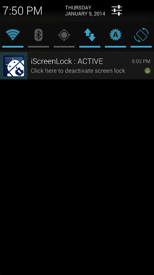iScreenLock- screenshot