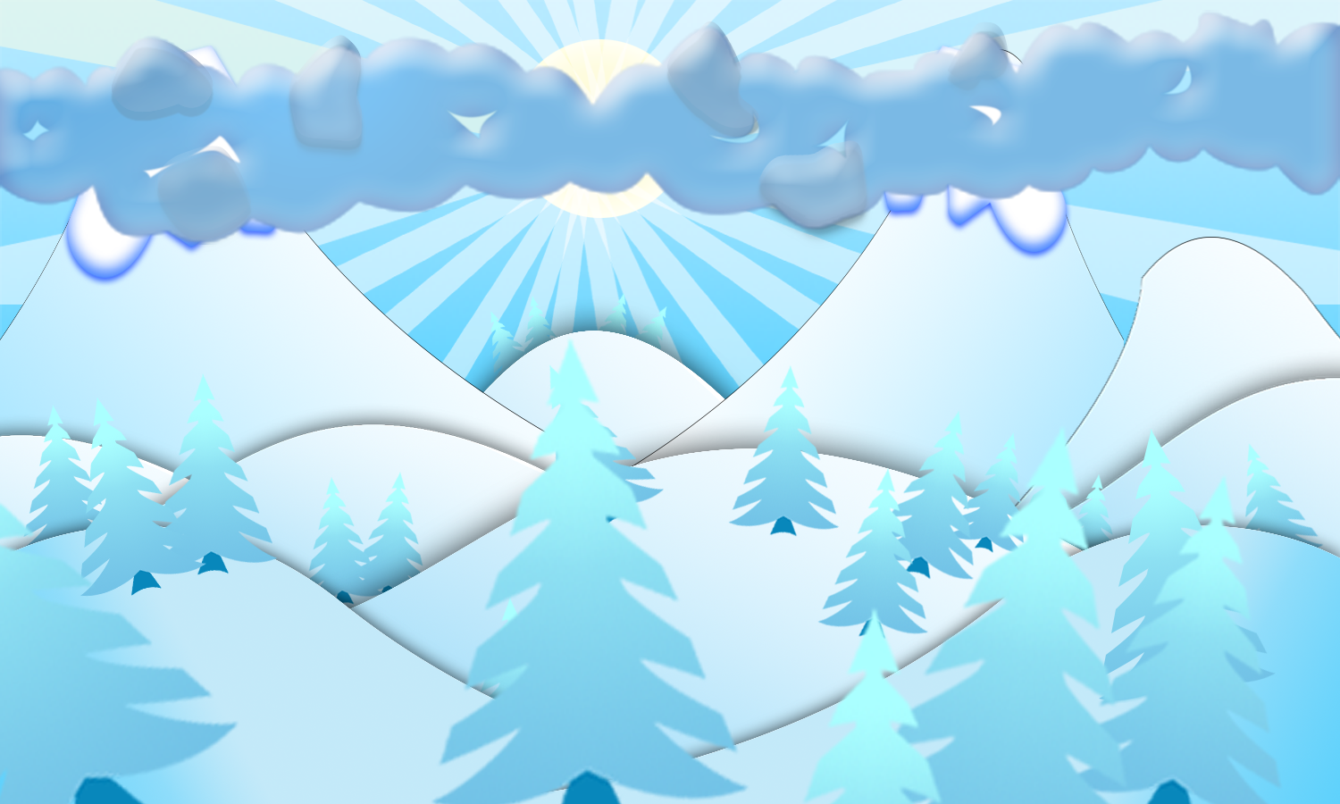winter idyll - screenshot