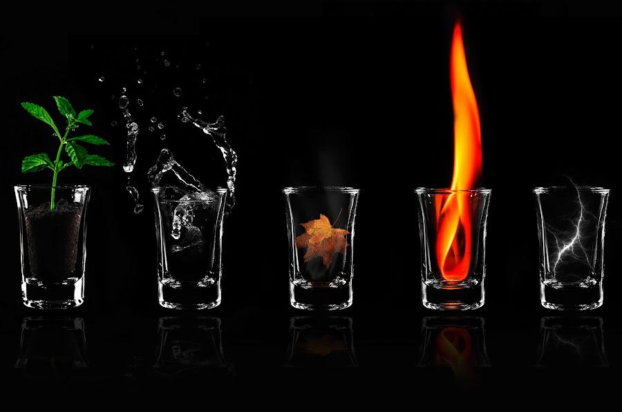 5 element by Muchtamir Muchtamir - Artistic Objects Glass