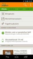 Screenshot of Vatera