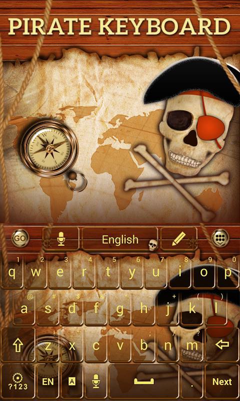 Pirate-GO-Keyboard-Theme 11