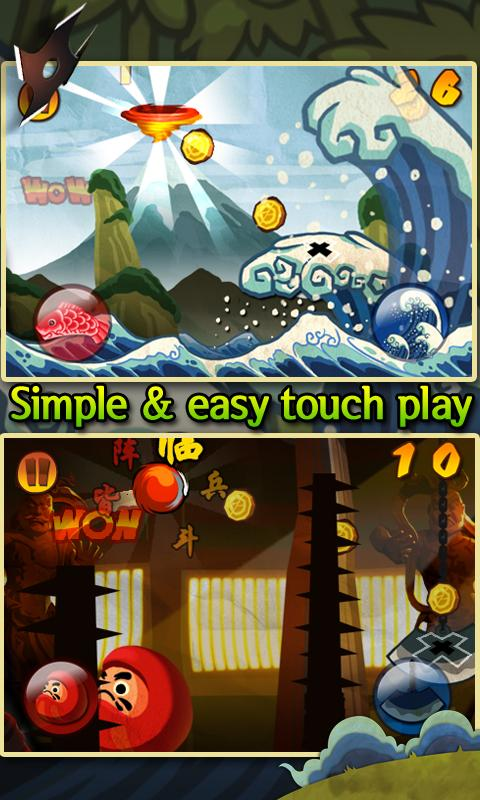 Ninja Bounce - screenshot
