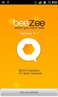 beeZee | Auto Reply SMS- screenshot thumbnail