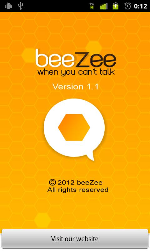 beeZee | Auto Reply SMS - screenshot