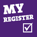 My Register logo