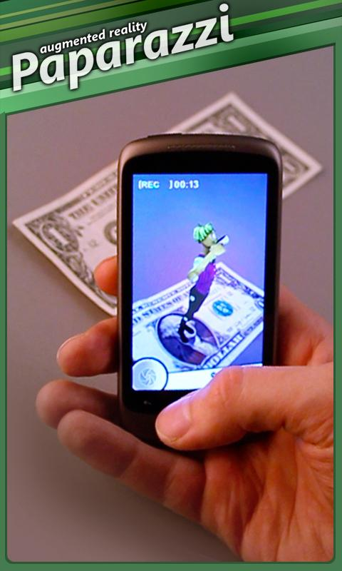 Paparazzi - Augmented Reality- screenshot