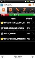 Screenshot of WeightObserver Premium