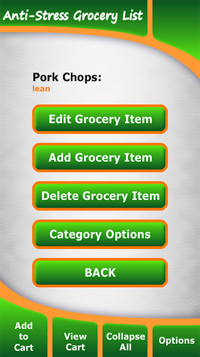 【免費健康App】Anti-Stress Grocery List-APP點子