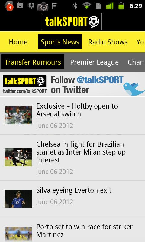 talkSPORT - screenshot