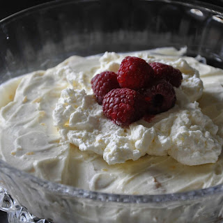 Simplified Limoncello Tiramisu with Raspberries
