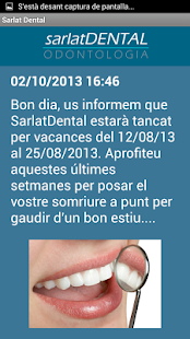 Sarlat Dental- screenshot thumbnail
