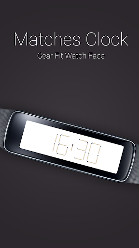 Matches Clock for Gear Fit
