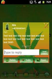 GO SMS PRO Theme Ganja Theme- screenshot thumbnail