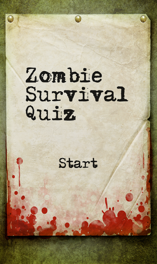 zombie survival quiz android apps on google play. Black Bedroom Furniture Sets. Home Design Ideas