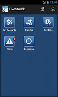 Five Star Bank Mobile Banking - screenshot thumbnail