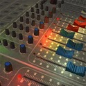 Mixer Audio On Set Music Level icon