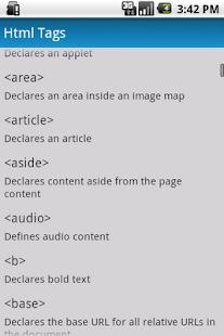 Html Class- screenshot thumbnail