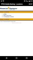 Screenshot of FPCU Mobile Banking