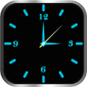 Glowing Clock Locker (blue) - Passcode