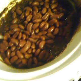 Slow Cooker Baja Beef 'n' Beans.