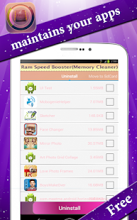 Memory Cleaner- RAM Booster- screenshot thumbnail