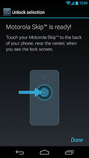 Motorola Skip™ Setup - screenshot thumbnail