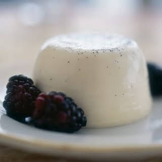 Panna Cotta with Berries.