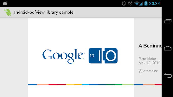 android-pdfview library sample