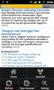 Svenska Tidningar - screenshot thumbnail