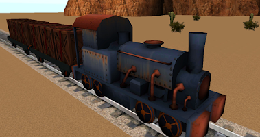 Screenshot of Trains of the wild west