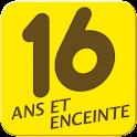 16 ANS ET ENCEINTE logo