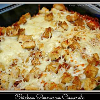 Chicken Parmesan Casserole.