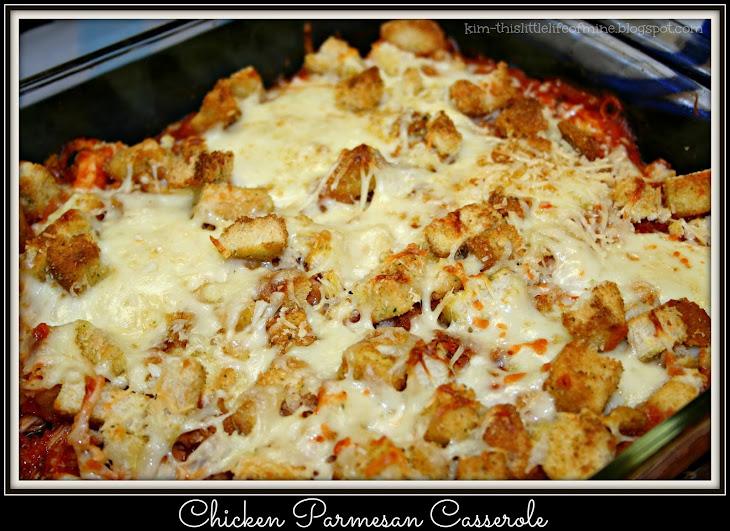 Chicken Parmesan Casserole Recipe