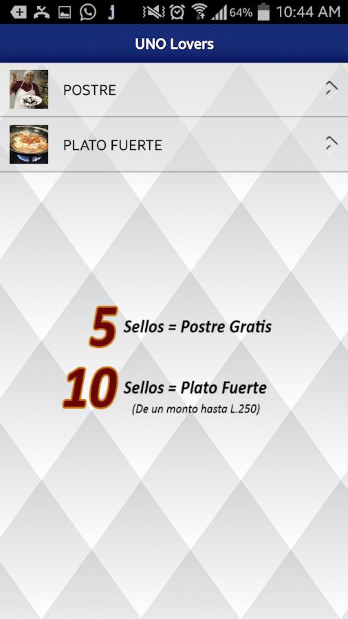 Uno Chicago Grill Honduras - screenshot