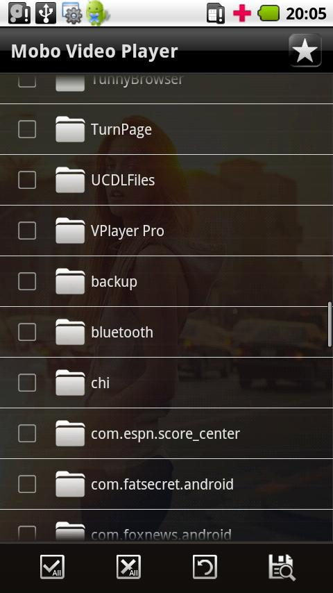 Mobo Video Player - screenshot