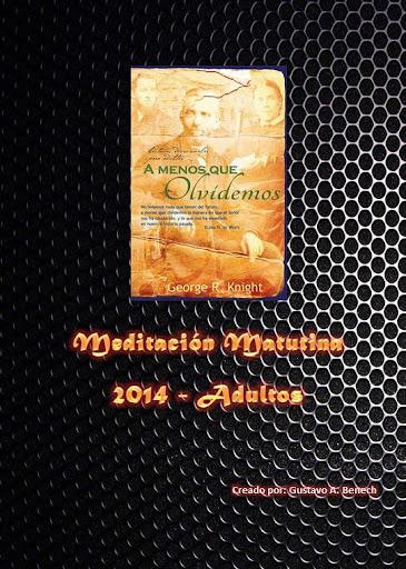 Meditación Matutina 2014 PAGA