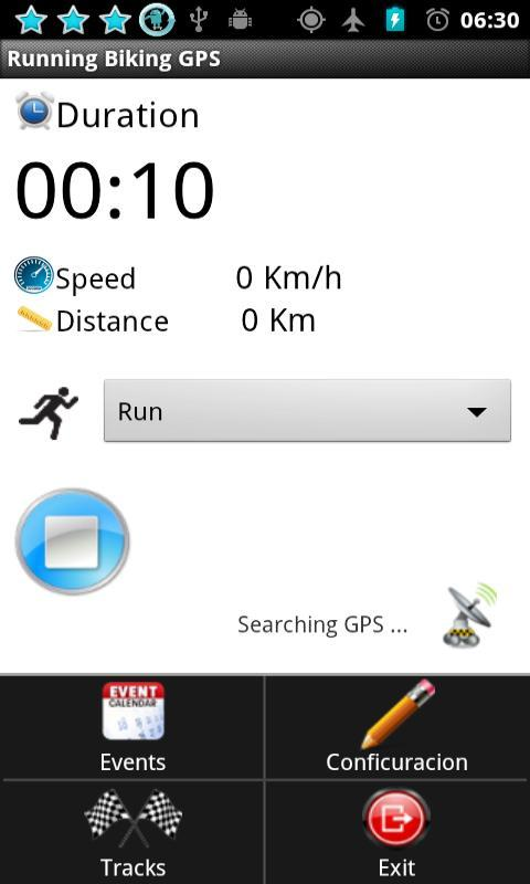 Running Biking GPS - screenshot